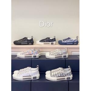 """迪奥中文官网情侣款""""B23""""Dior Oblique360奢侈品网低帮跑鞋板鞋3SN249"""