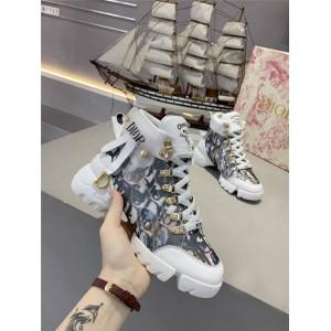 DIOR迪奥香港官网D-CONNECT卖奢侈品的网站运动鞋跑鞋老爹鞋KCK222
