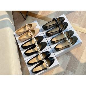 dior美国官网迪奥正品女鞋MISS J'ADIOR科技面料芭蕾舞鞋平底鞋KCB453