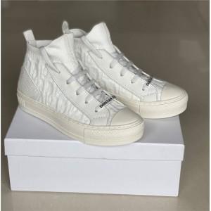 迪奥官网全球奢侈品Walk'n'Dior 运动鞋OBLIQUE图案老花袜子鞋女鞋