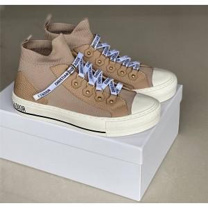 迪奥欧洲官网正品奢侈品网女鞋WALK'N'DIOR 运动鞋帆布鞋袜子鞋KCK231