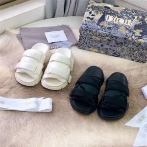 DIOR中国香港官网迪奥奢侈品折扣网站D-Wander凉鞋半拖鞋KCQ351