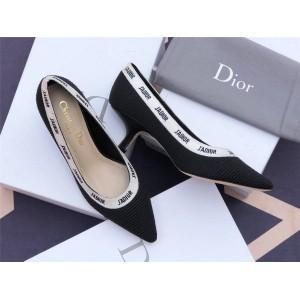 dior官方网站迪奥原单女鞋科技面料刺绣J'ADIOR 高跟鞋KDP549