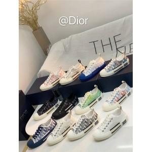 DIOR迪奥香港官网正品奢侈品网站情侣鞋男女士B23 低帮运动鞋板鞋