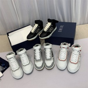 dior美国官网迪奥正品新款男女士情侣鞋B27 高帮运动鞋3SH132