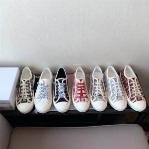 dior官方网站迪奥代购女鞋帆布刺绣WALK'N'DIOR 运动鞋