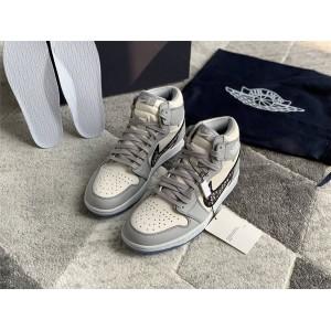 Air Jordan 1 AJ1 Dior联名迪奥官网代购正品高帮运动鞋CN8607-002