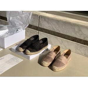 dior官网中国官网迪奥代购新款女鞋GRANVILLE 草编鞋KDB585