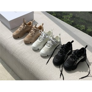 dior法国官网迪奥代购女士网面D-CONNECT 运动鞋KCK280