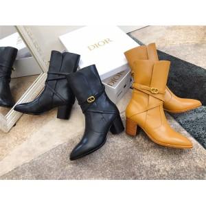 dior官方网站迪奥原单女靴EMPREINTE 带跟及踝靴KCI609