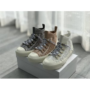 迪奥官网原单奢侈品代购女鞋藤格纹WALK'N'DIOR 运动鞋KCK276