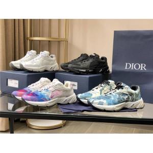 dior香港官网迪奥代购新款鞋子渐变印花CD1 运动鞋3SN260