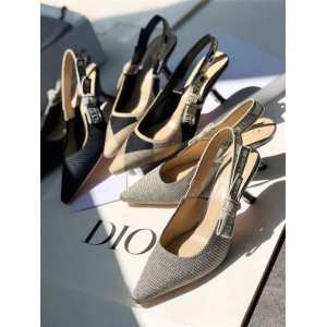 DIOR迪奥中国官网正品奢侈品网站新款J'ADIOR 露跟高跟鞋KDC200