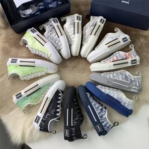迪奥香港官网代购Shawn Stussy X Dior B23联名情侣款低帮运动鞋