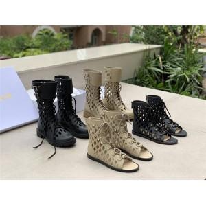 DIOR迪奥香港奢侈品折扣店D-TRAP 凉鞋短靴KCQ489/KDI601