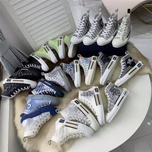 迪奥美国官网代购Shawn Stussy X Dior B23联名情侣款高帮运动鞋