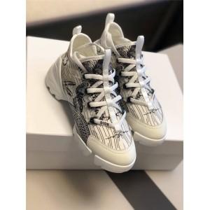 dior香港官网迪奥女鞋D-CONNECT橡胶运动鞋跑鞋老爹鞋KCK222