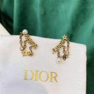 dior中国官网迪奥原单新款珍珠蜜蜂星星J'ADIOR 耳环E1007A