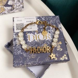 dior法国官网迪奥原单新款珍珠女士J'ADIOR 手链B1132ADRRS_D908