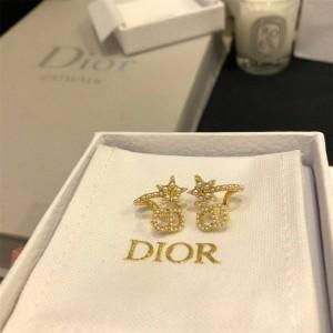 DIOR官网迪奥海外代购网站CD珍珠CLAIR D LUNE 耳环E1099