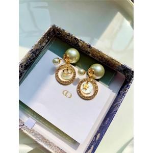 DIOR官网迪奥美国代购网珍珠贝母CD星星TRIBALES 耳环E1412