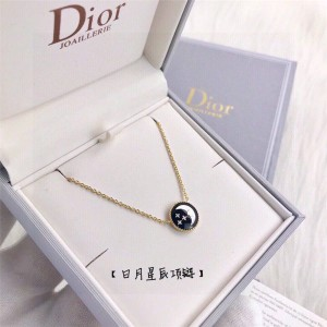 DIOR迪奥正品官网奢侈品代购网站日月星辰项链