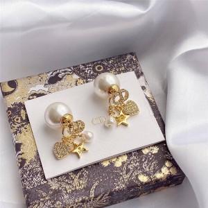 DIOR迪奥高仿官网淘宝奢侈品代购TRIBALES 耳环E1455