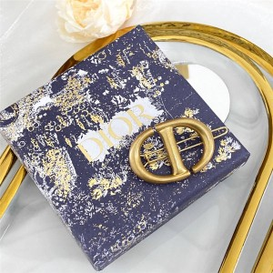 DIOR迪奥官网奢侈品网购网站CD NAVY 发夹V0696