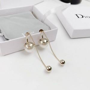 DIOR迪奥官网奢侈品寄卖店TRIBALES系列珍珠流苏耳环