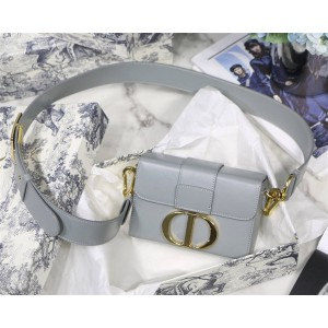 dior官方网站迪奥包包新款30 Montaigne Mini箱型手袋盒子蒙田包M9204