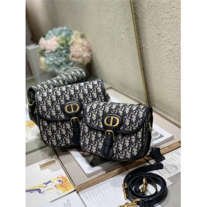 dior包包官网价格迪奥代购Oblique印花BOBBY手袋复古马鞍包M9317/M9319