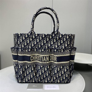 dior官网女包价格迪奥奢侈品网购网站Oblique印花托特包购物袋M1279