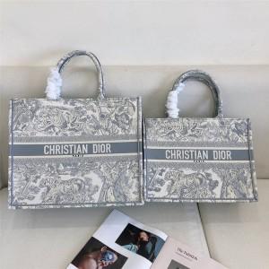 dior美国官网迪奥老虎印花IVIERA BOOK TOTE 手袋购物袋M1296