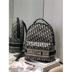 dior美国官网迪奥原单Oblique印花双肩包DIORTRAVEL 双肩背包M6104