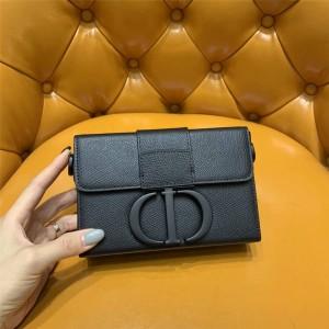 DIOR官网迪奥奢侈品品牌亚光磨砂30 MONTAIGNE 箱型手袋盒子包M9204