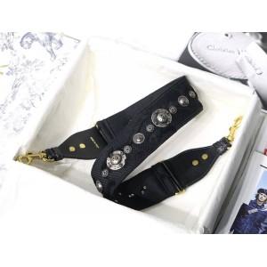 DIOR迪奥官网奢侈品代购网站黑色迷彩30 MONTAIGNE 肩带S8534