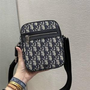 DIOR迪奥官网世界顶级奢侈品新款Oblique 印花帆布信使包1ESPO200