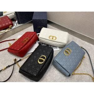 迪奥官网代购世界奢侈品牌新款大号 DIOR CARO 手袋M9243
