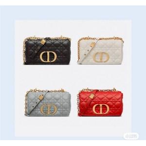 迪奥官网正品奢侈品网购网站新款小号 DIOR CARO 手袋M9241