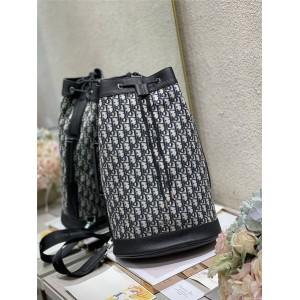 dior包包迪奥官网正品Oblique 印花背包造型斜挎包1ESBO021