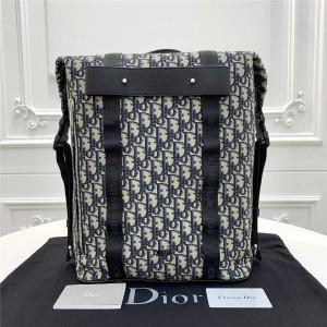 Dior/迪奥官网男士双肩包新款Safari Oblique提花背包1SFBA0